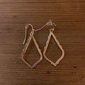 Kendra Scott Rose Gold Small Sophee Earrings
